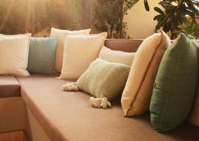 Pergola cushions